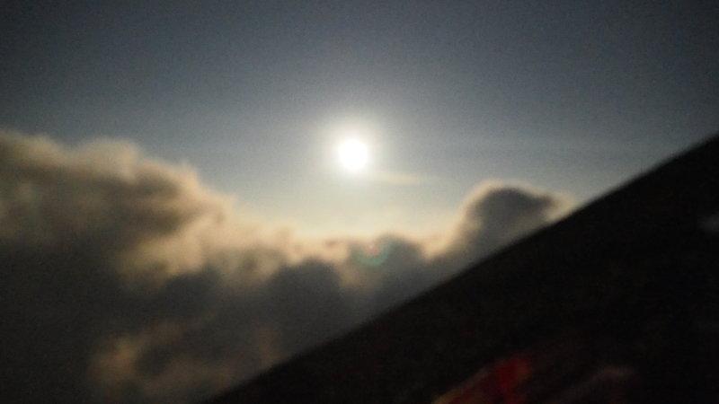 富士山の夜景
